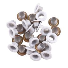 Metal Eyelets white 5*8mm Grommets for Leather Craft DIY Scrapbooking Shoes Knitwear Jeans Bags Practical Accessories