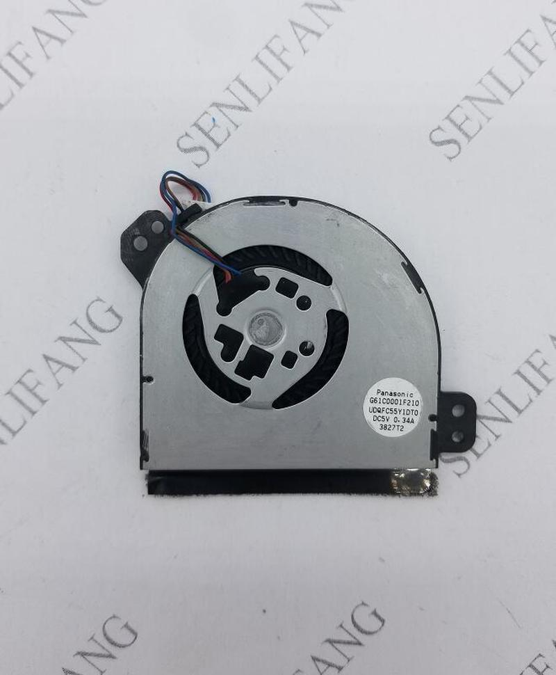 CPU Cooling Fan For Toshiba Tablet WT310 Portege Z10T-A Z15T-A Cooler Fan G61C0001F210 UDQFC55Y1DT0 5V 0.34A 4920T2