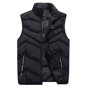 Image 2 - Mens Jacket Sleeveless Vest Winter Fashion Casual Coats Male Cotton Thick Clothing Warm Mens Vest Men Thicken Waistcoats 8XL