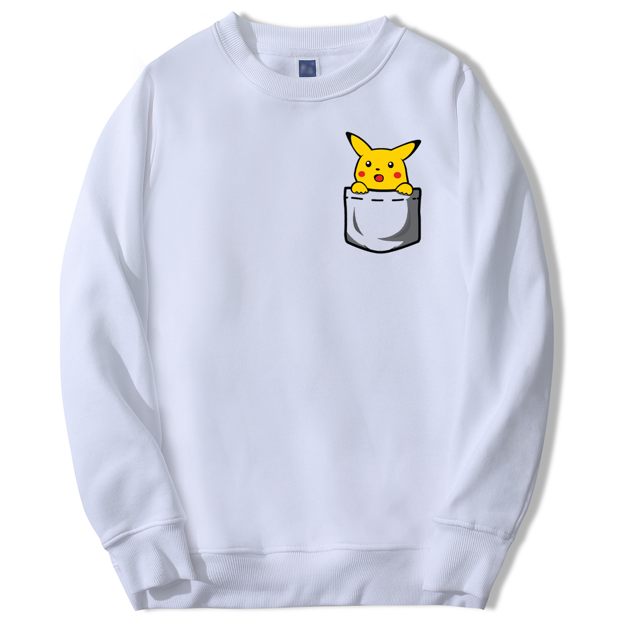 Pokemon Japan Anime Men's Sweatshirts Pikachu Male Hoodies Sweatshirts 2020 Spring Autumn Hoodies Harajuku Sweatshirt Man Tops