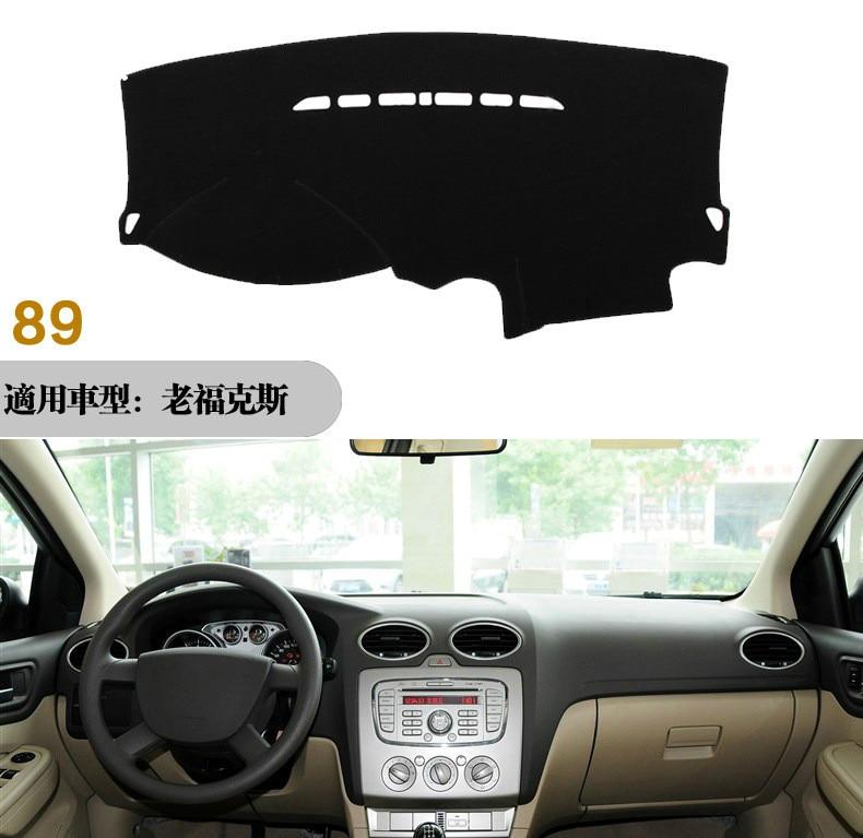 Xukey Dashboard Cover Dashmat Dash Mat Pad For Ford Focus 2 MK2 2005-2011