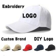 DIY Logo Baseball cap Flat Cap Custom-made Bucket Hat Hip Hop Child&Adult Printing Embroidery Brand Sport High-quality Snapback