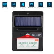 Smart Infrared Voice Prompter Solar Powered Waterproof Body Motion Sensor for Shop Entrance Trash Classification 100-240V Infrar(China)