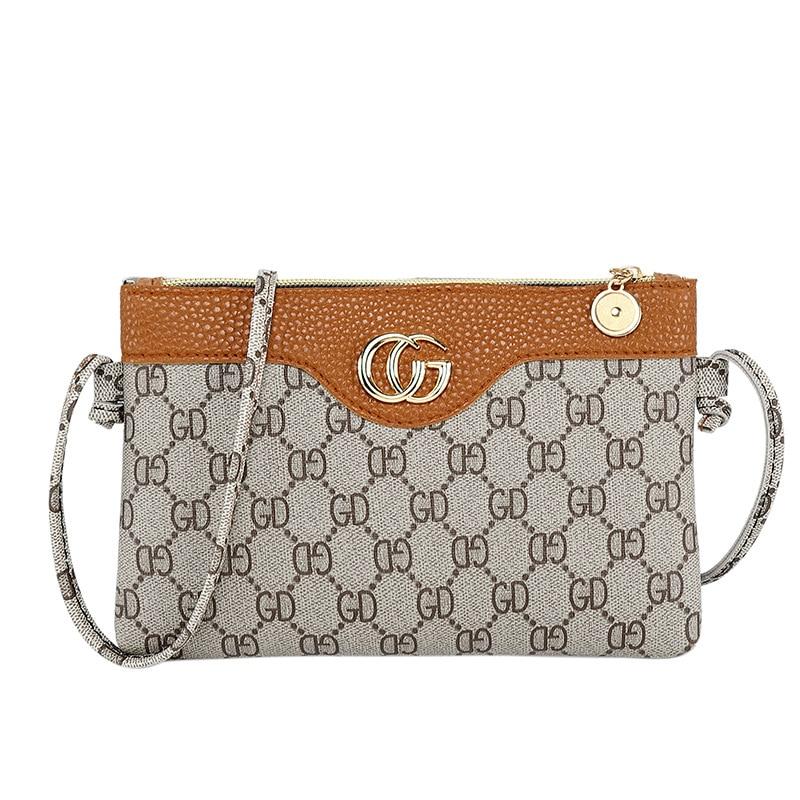 Female Luxury Bag Fashion Purse Women Wallet Mini Shoulder Bag PU Leather Phone Coin Bag New Flower Plaid Bee Bag Crossbody Bag