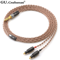 GUcraftsman 6N OCC copper for SHURE SRH1440 SRH1540 SRH1840 4Pin XLR 2.5MM/4.4MM Balance Headphone cable