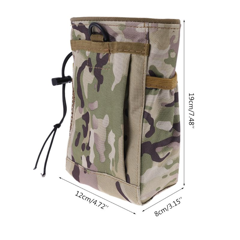 Metal Detecting Finds Recovery Bag Pouch Digger Gold Treasure Waist Camo Luck C90A