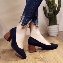 Buy Spring/Autumn 2019 New Elegant Women Shoes Pumps Mary Janes Round Toe Fashion Casual Shoes Woman Shallow Slip-on High Quality directly from merchant!