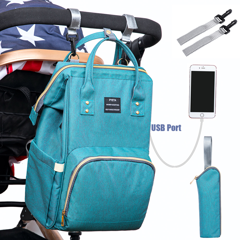 PYETA Baby Diaper Bags For Mmummy,Nappy Backpack Maternity Bag Bolsa Maternidade Bags For Baby Care