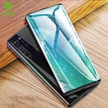 CHYI – film 3D incurvé pour Motorola Edge, protecteur d'écran, 6.7 pouces, Nano hydratation, couverture complète, pas en verre trempé