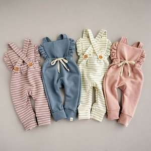 Pudcoco Pants Clothes-Suit Overalls Romper Newborn Baby-Girl Cotton Child 0-3years Outfit