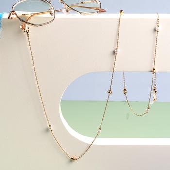 Wisiorek metalowy łańcuch na okulary przeciwsłoneczne maska uchwyt na przewód złoto czarny srebrny kolor smycz Metal sznureczek akcesoria do okularów tanie i dobre opinie WEALTHYBOO Brak Kobiety Moc naszyjniki CN (pochodzenie) Na co dzień sportowy Akrylowe Nastrój tracker Moda Acrylic eyeglasses chain