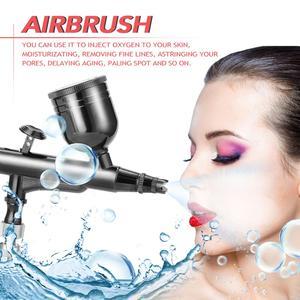 Image 5 - KKmoon Multi Purpose Spray Gun Gravity Feed Dual Action Airbrush Kit Set 8cc Trigger Spray Gun for Art Craft Paint Spraying