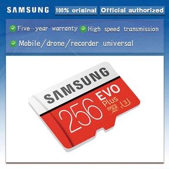 Original SAMSUNG Micro SD card 32GB Class10 16GB microSD Memory Card 64GB EVO+ EVO Plus 256GB 128GB TF Card cartao de memoria