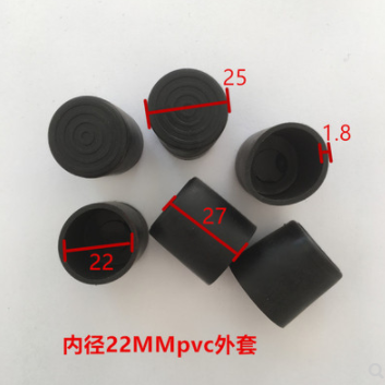 Furniture Accessories 22mm PVC Pipe With Inner Diameter  PVC Soft PVC Round Pipe PVC Soft Plug Protective Rubber