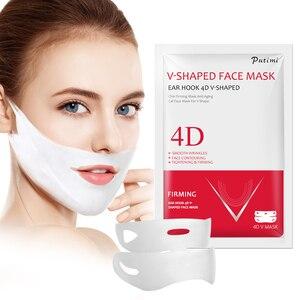 Image 3 - 1/2/3PCS 4D V Shape Slim Mask Face Lift Tools Thin Face Mask Slimming Skin Care Face Treatment Double Chin Skin Beauty Mask