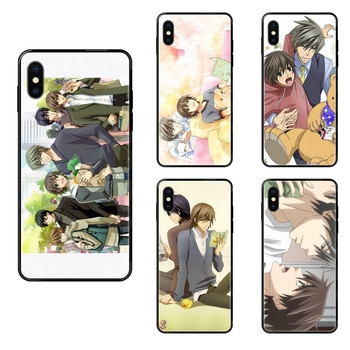 The Latest Black Soft TPU Phone Cover Case Junjou Romantica Tv Series For Xiaomi Redmi Note 4 5 5A 6 7 8 8T 9 9S Pro Max image