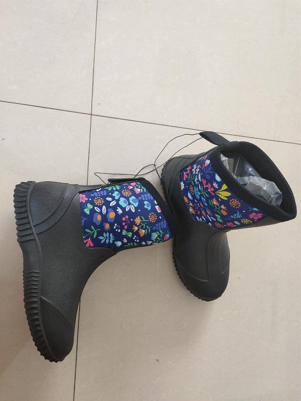médio feminino sapatos de água floral a