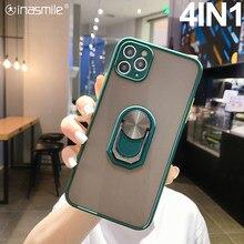 Fantastyczny 4IN1 etui na telefon do Samsung galaxy A21S A50 A51 A71 5G A20E A41 A01 A11 A20S A7 A9 A91 M11 M40 M30 M31S M51 M60S pokrywa
