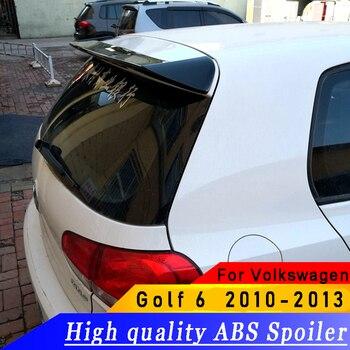 For Volkswagen Golf 6 2010 to 2013 spoiler ABS high quality material spoiler primer or white or black  Golf 6 spoiler for chevrolet camaro bumblebee spoiler primer unpainted abs material 2010 2011 2012 2013 2014 2015
