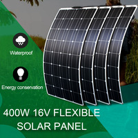 flexible solar panel high efficiency 400w marine outdoor battery charger solar module