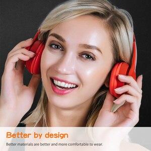 Image 3 - Original Lenovo HD100 Bluetooth 5.0 Headphone Multi mode Stereo Long Battery Wireless Headphone with Mic for PC Laptop Phone
