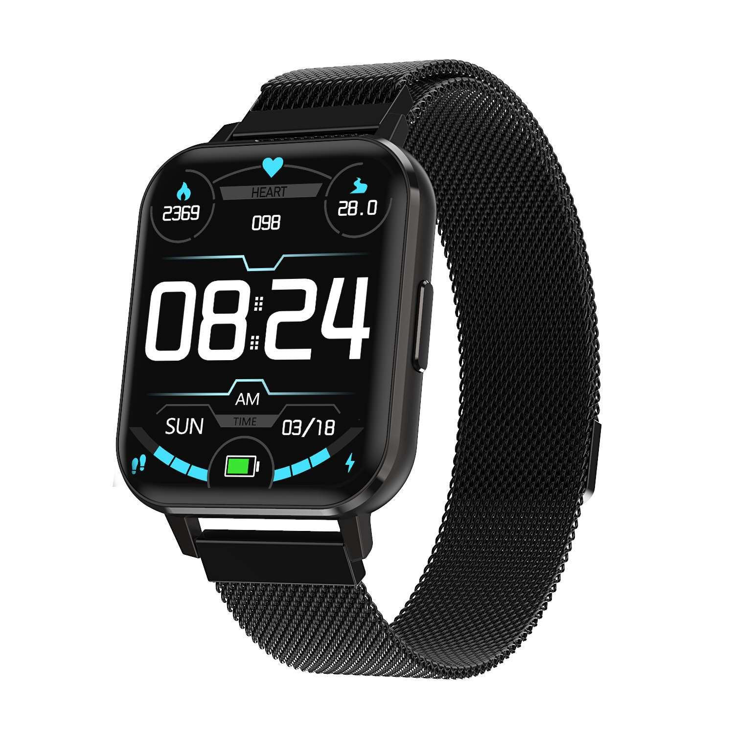 <font><b>DT</b></font> <font><b>NO</b></font>.<font><b>1</b></font> DTX Smart Watch <font><b>1</b></font>.78'' High Resolution Full Touch ECG Heart Rate Blood Pressure Oxygen Monitor <font><b>Smartwatch</b></font> Women Men image