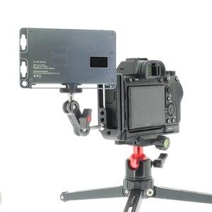 Image 5 - PEIPRO עבור SONY A7R4 A7RIV שחרור מהיר צלחת extensionable L צלחת סוגר מחזיק שקופיות Baseplate