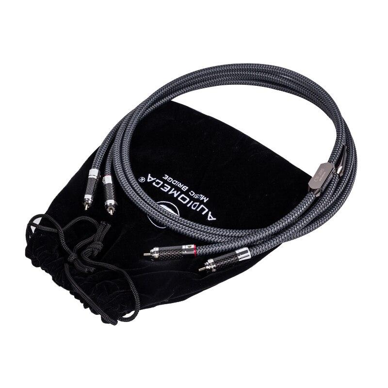 Audiomeca Occ câble audio hifi rca-câble de connexion audio câble CD amplificateur de puissance câble audio hifi 1 paire