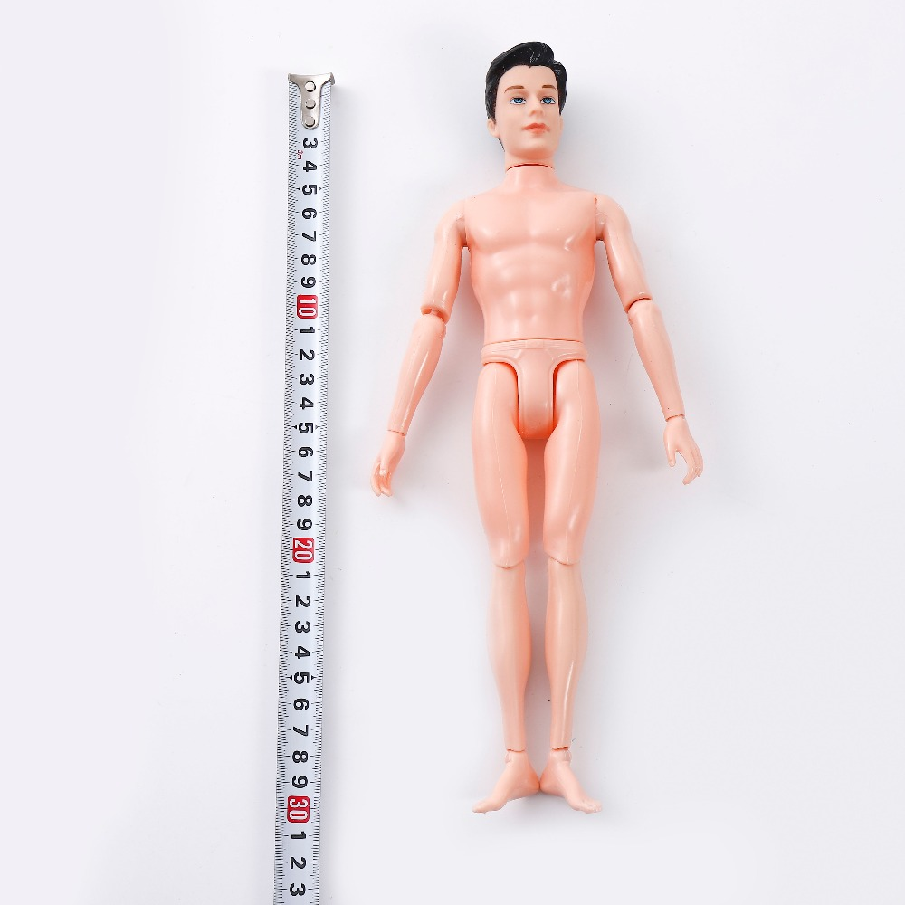 30cm 14 Moveable Jointed Doll Ken Male MAN Body Boyfriend Prince Nude Doll H6Y