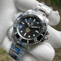STEELDIVE 1954 Middle East Eagle 316L Steel Automatic Watch Men Mechanical NH35 Sapphire C3 BGW9 Ceramic Bezel Diver Watch 200m