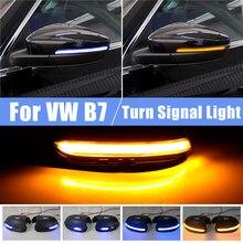 Luz led dinámica de señal de giro para VW Passat B7 CC Scirocco, luz de repetición para EOS Light Beetle 2011 2014