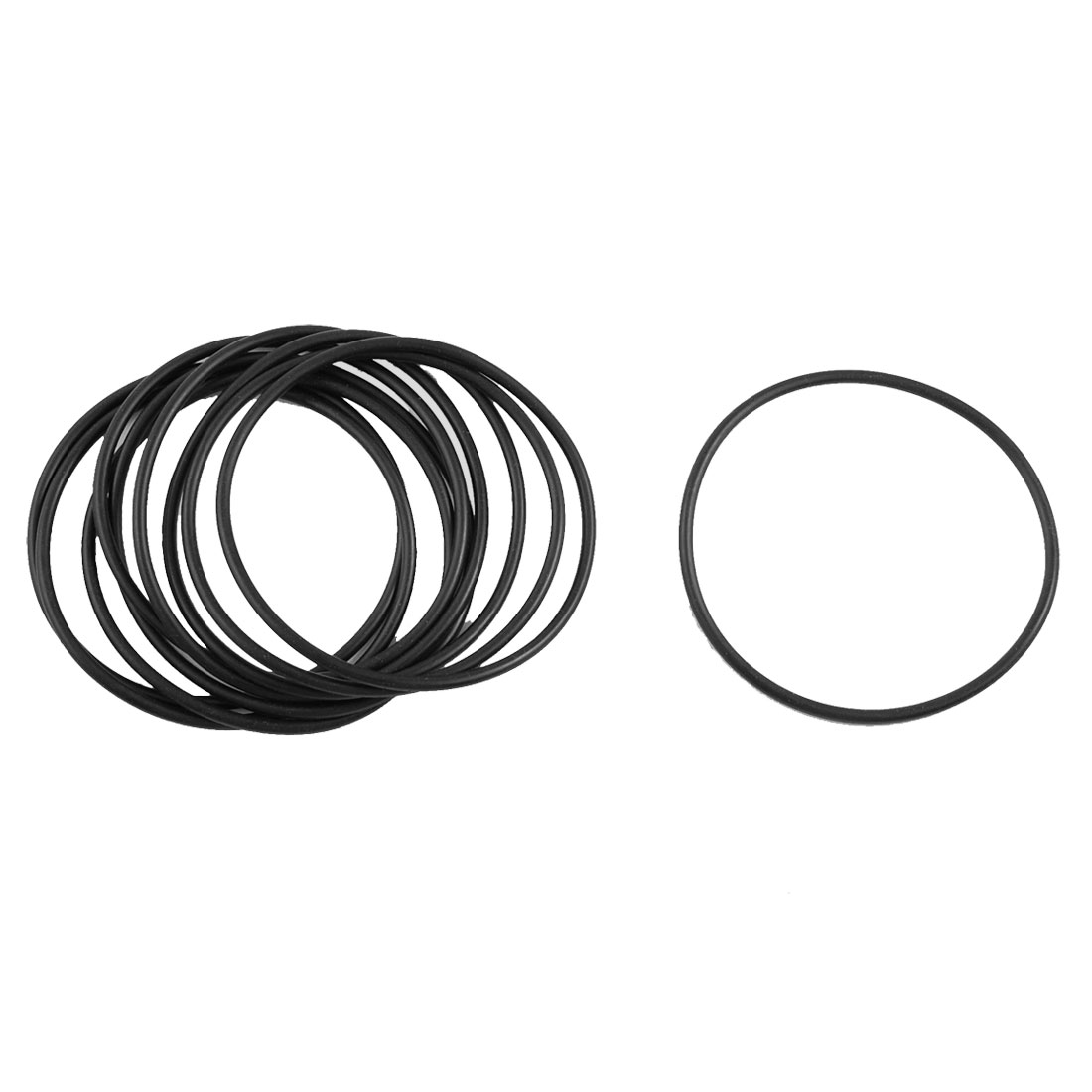 105 x 2.5mm Nitrile 70 O/'Ring 10x