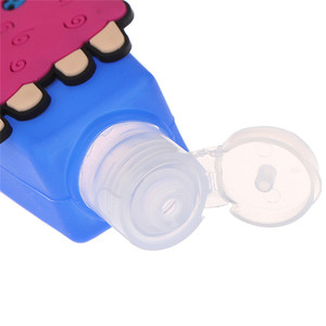 Image 5 - 1PC 30ml Cartoon Silicone Bath Body Works Hand Sanitizer Bottle Antibacterial Holder