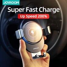 Joyroom supporto per telefono per auto 15w qi caricabatterie wireless per iPhone X Samsung S10 S9 S8 supporto per telefono caricabatterie per telefono per auto in presa daria