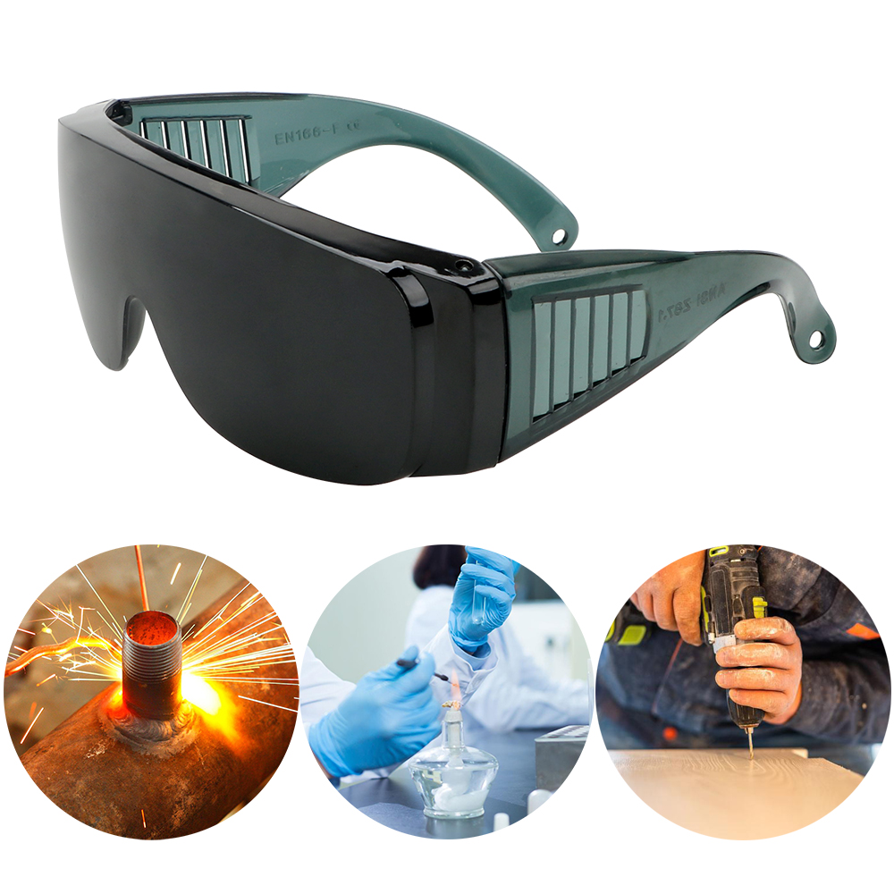 NICEYARD Windproof Anti-Fog Spectacles Resistant Safe Goggles Industrial Protective Safety Glasses Protector Cover