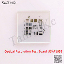 Test-Board Usaf1951-Machine Correct-Pieces Vision-Camera Optical-Resolution 25--25