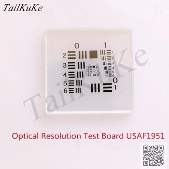 Rozdzielczość optyczna płyta testowa rozdzielczość test mocy cel Usaf1951 tablica kalibracji kamery wizyjnej prawidłowe elementy 25*25 tanie i dobre opinie