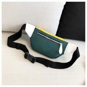 Waist Bag Women 2020 New Canvas Leisure Panelled Fanny Pack For Girls Letter Bum Bag Packs fashion Chest Crossbody bag Belt