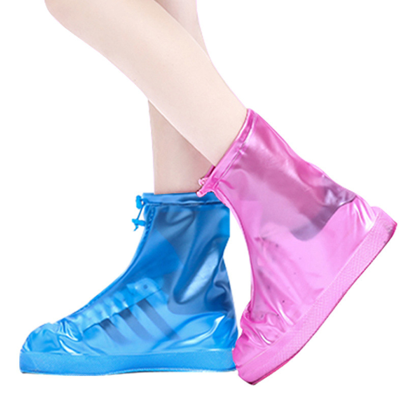Protectors Rain Boots For Indoor Outdoor Rainy Days Reusable Silicone Washable Wear-Resistant Shoes Covers Rain Boots For Adult