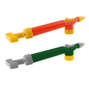 1 sztuk gospodarstwa domowego wysokiego ciśnienia pompy powietrza ręczny opryskiwacz ogród regulowany wózek dysza pistoletu podlewanie Spray głowica rozpylająca ze złączem tanie i dobre opinie Trigger Opryskiwacze Z tworzywa sztucznego TKMS Transkoot Plastic LG-03 Red LG-04 Green LG-05 Orange