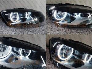 Image 5 - ل Volkswagen VW Polo CrossPolo Vento ممتازة جدا مشرق CCFL عيون الملاك هالو خواتم عدة اكسسوارات السيارات ضوء النهار