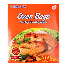 WRAPOK Oven Turkey Bags Roasting Cooking Large Size Baking Bag No Mess For Chicken Meat Ham Poultry Fish Seafood Vegetable - 10 hawksmoor at home meat seafood sides breakfasts puddings cocktails