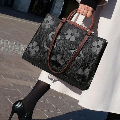 Luxury Vintage Women Handbags Designer Female Crossbody Shoulder Bags Ladies Leather High Capacity Wild Package Brand