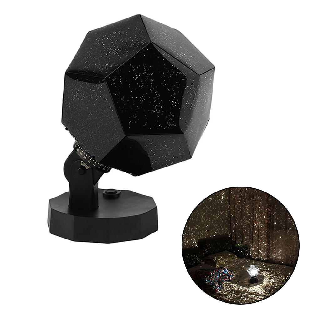 Romantic DIY Master Bright Night Light LED Star Projector Lamp Sky Projection Cosmos LED Night Lamp Kid's Gift Home Decoration