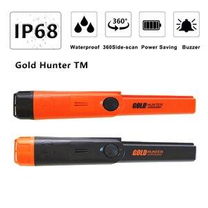 Gold Hunter TM waterproof Professional Pinpointer Metal Detector Finder Underground Scanner handheld metal detector(China)