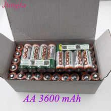 2020S nowa bateria AA 3600 mAh akumulator NI-MH 1.2 V AA3600 bateria do zegarów, myszy, komputerów, zabawek tak dalej