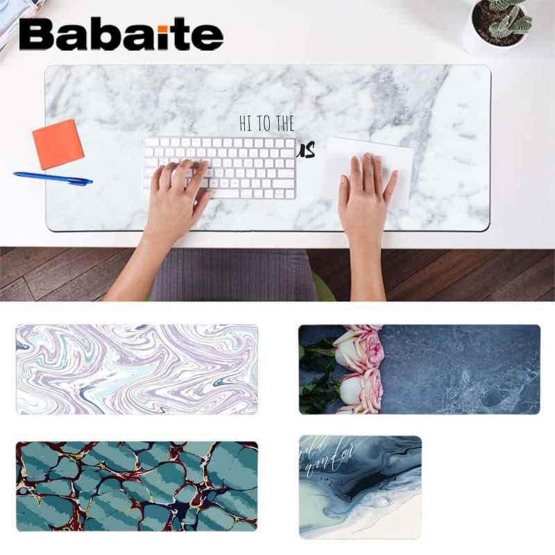 Babaite 2018 новые мраморные Игровые мыши для ноутбука резиновый коврик компьютерной