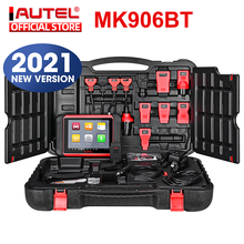 Autel MaxiCOM MK906BT Diagnostic Tool Bluetooth Scanner Automotivo ECU Coding OBD2/EOBD OBD PK MaxiSys MS906BT MS908S MS906