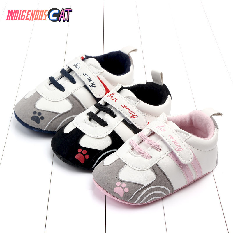 Baby Shoes Autumn New Baby Study Walking Shoes Comfortable Soft Bottom Step Front Shoe Fashion Newborn Baby Shoes