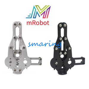 2 DOF Metal Robot Arm Clamp Claw Metal Mechanical Paw/Clip Compatible With MG996/DS3218 For Arduino DIY RC Toy